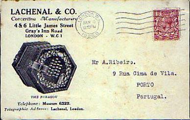 lachenal mystery postcard