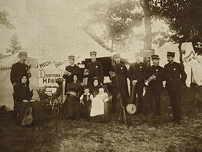 a group of musicians at a